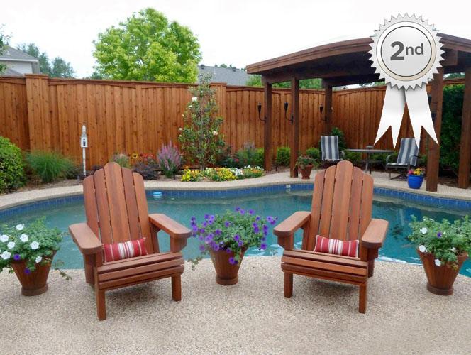 Redwood Adirondack Chair By Cyndie B. of Plano, TX.