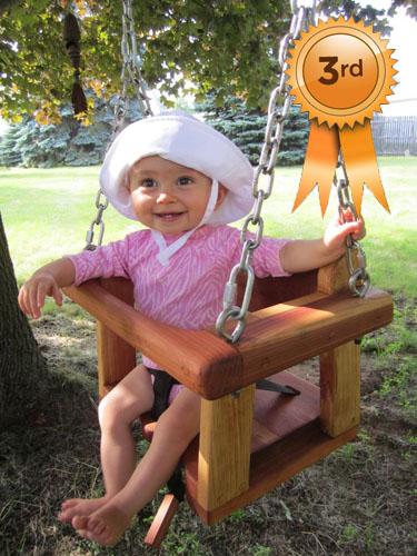 Toddler Swing Seats By Jennifer, Justin & Stella Jane C. of Lambertville, MI.