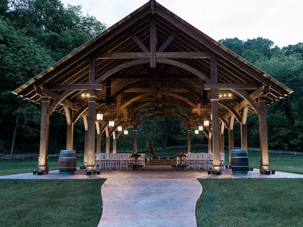 The Cardinal's Nest Pavilions - By Stan and Monica H., Sevierville, TN