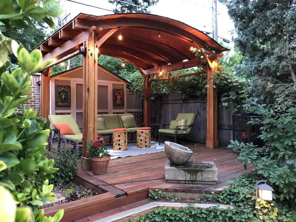 Backyard Pavilion Kits - By Paul U., Denver, CO.
